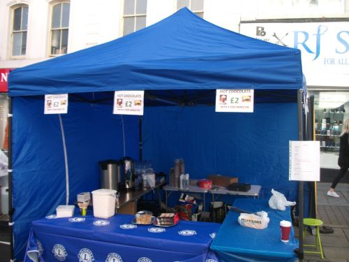Our stall